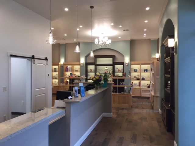 The optical shop at Two Rivers Eye Care